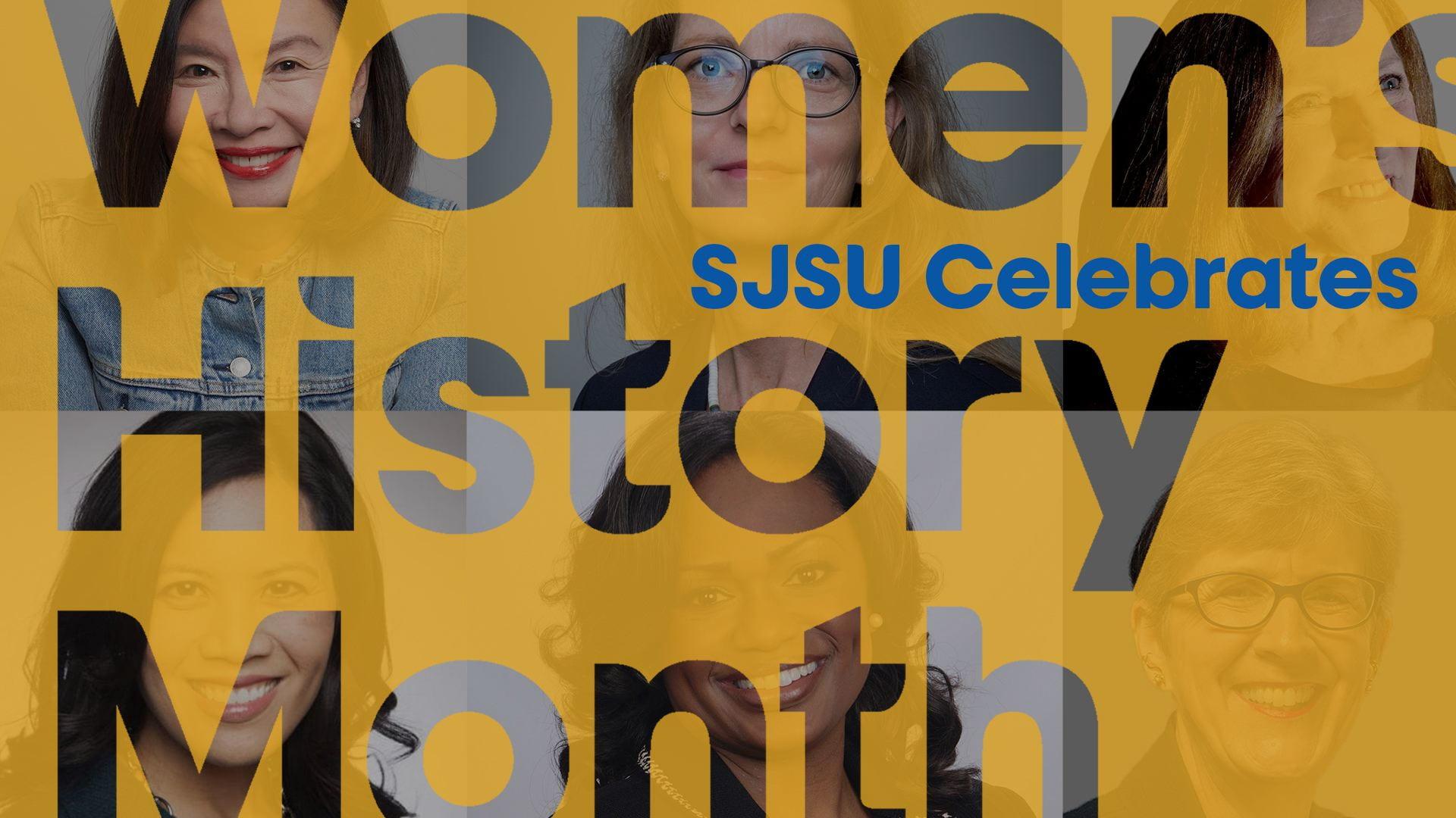 SJSU Celebrates Women's History Month