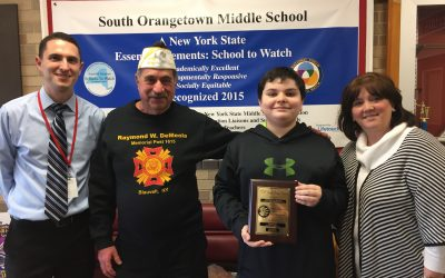 Seventh-Grader Earns Regional Recognition for Patriot's Pen Essay