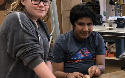 SOMS Students Partner For COVE Mother's Day Tech Project