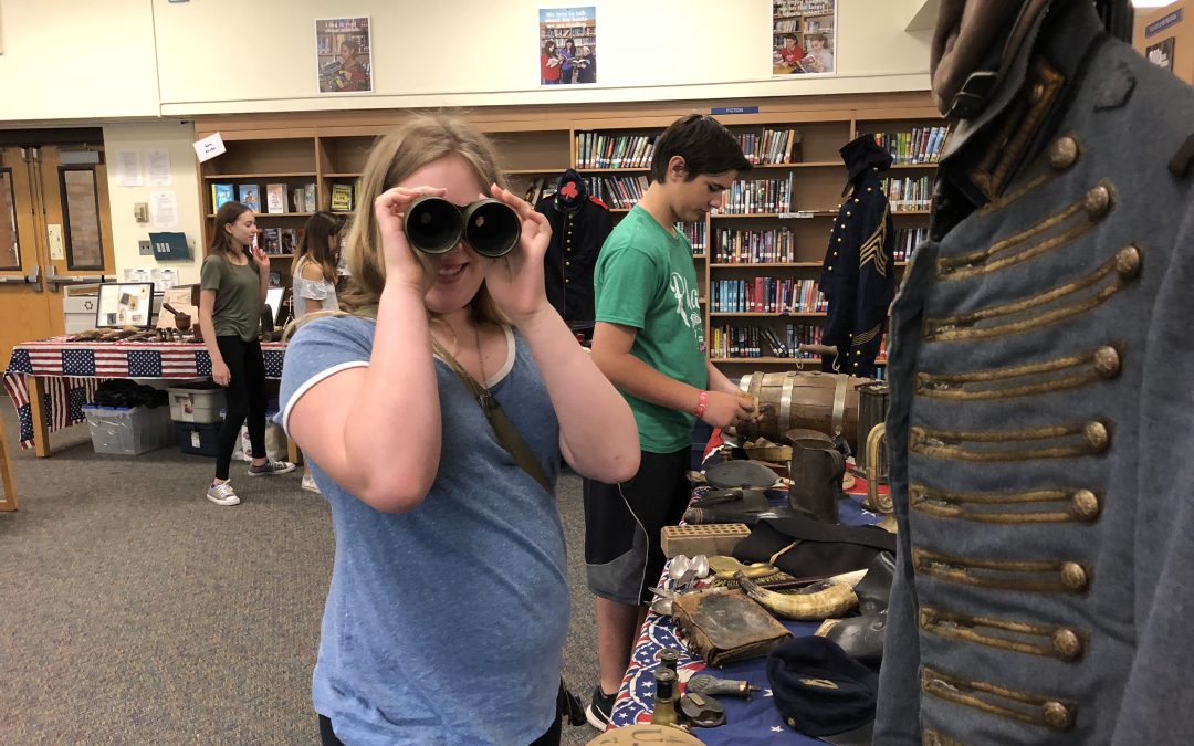 Seventh-Graders Get Hands-On With Civil War History