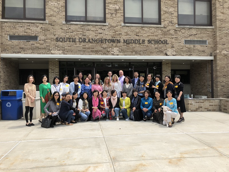 SOMS Welcomes Chinese School Leaders