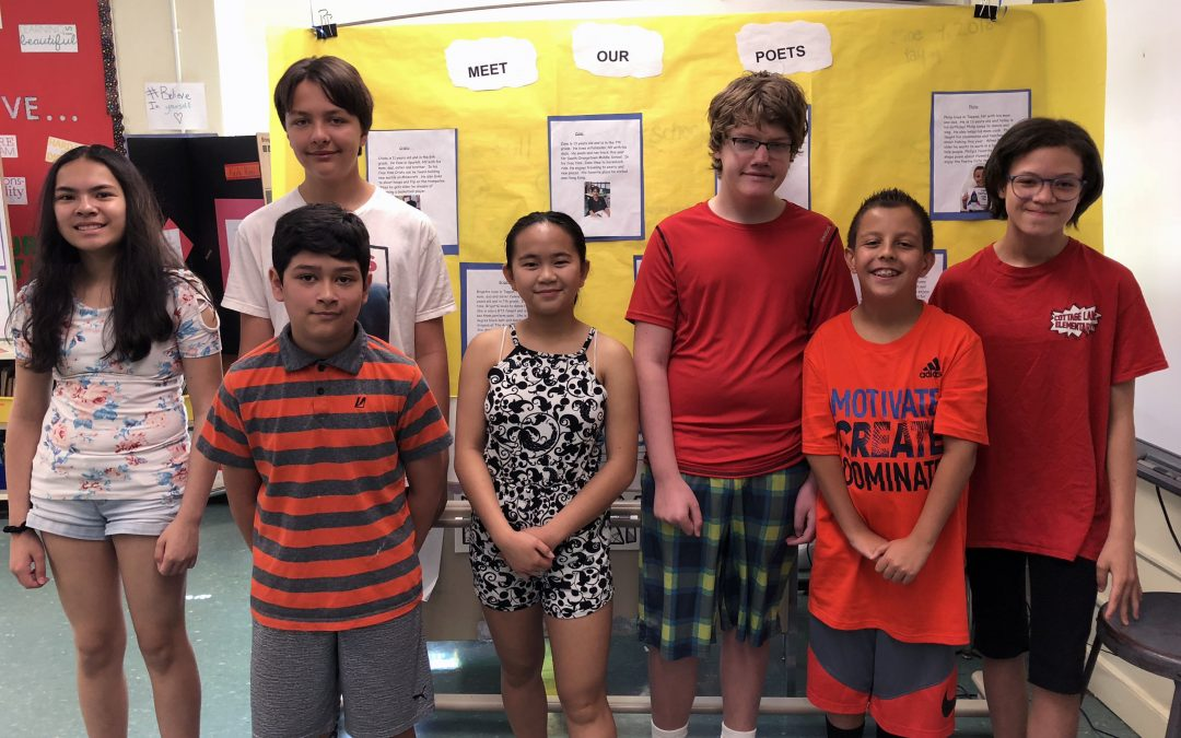 Students Host SOMS Poetry Cafe