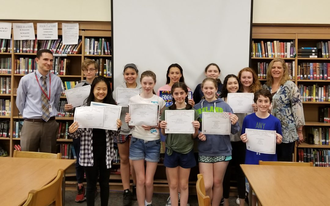 Five SOMS Reflections Entries Advance to Regionals