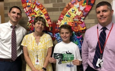 Congratulations to Nate P., Jets Upstander of the Week!