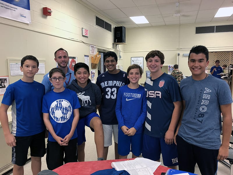 At SOMS, Students Focus on Positive School Culture
