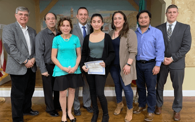 Olivia S. is Sons of Italy Student of the Month