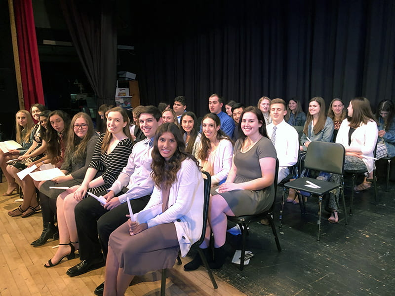 Italian Language Students Honored for Excellence