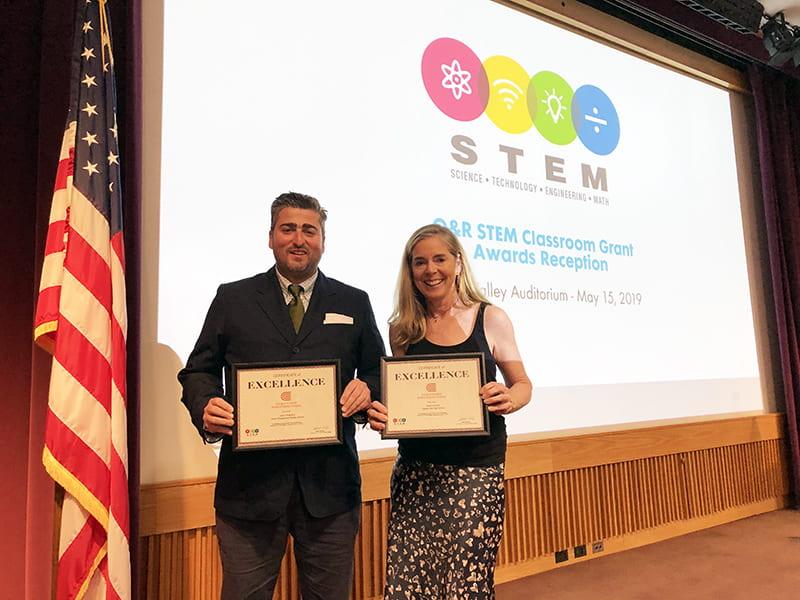 Two SOCSD Teachers Awarded O&R STEM Grants
