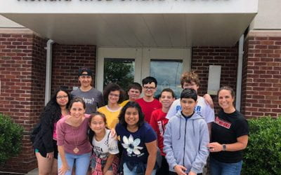 SOMS Service Project Puts Math, Social Studies into Action
