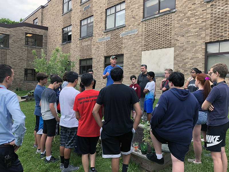 SOMS Tech Students Dig Into Ag Tech