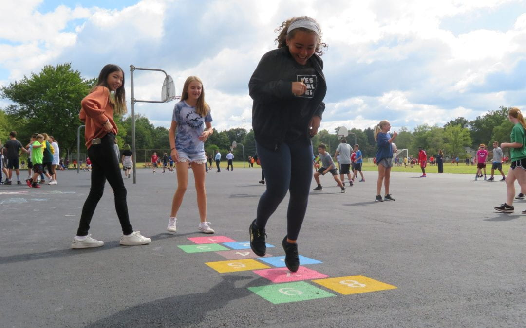 SOMS Playground Renovations Inspire Active Recess