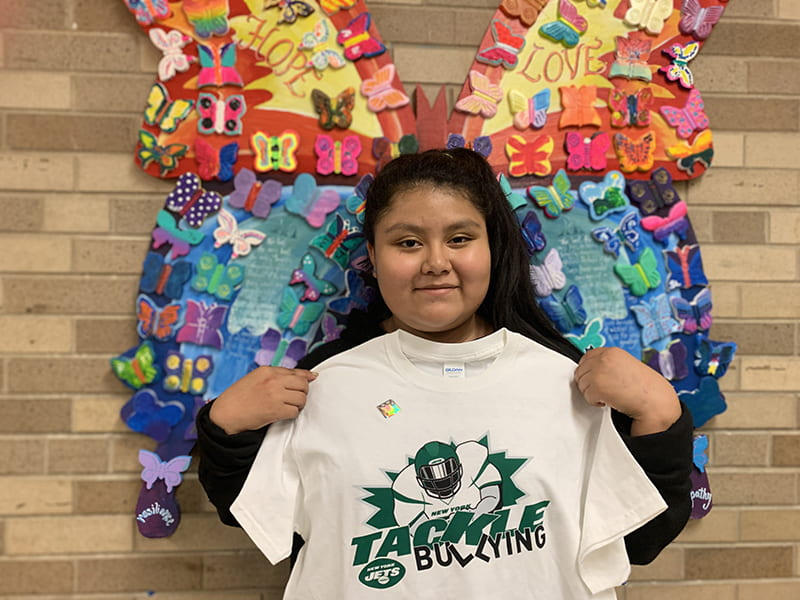 Gisella P. is SOMS Upstander of the Week