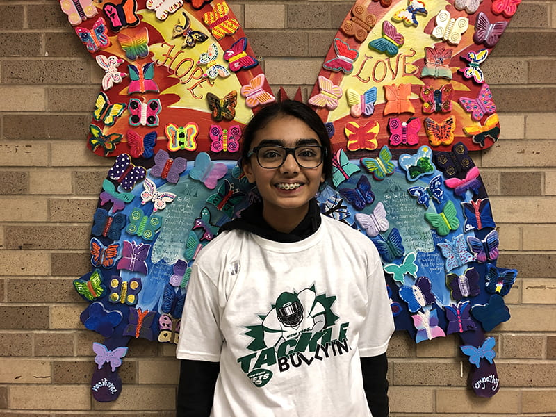 Jessnoor K. is SOMS Upstander of the Week