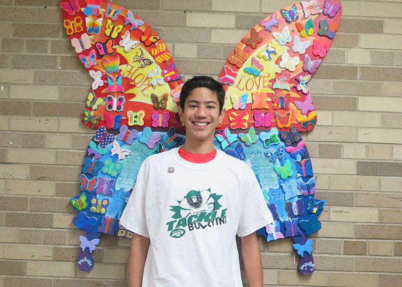 Jonathan M. is SOMS Upstander of the Week