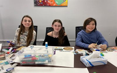 SOMS, TZHS Students Reflect on Goals at Visioning Workshops