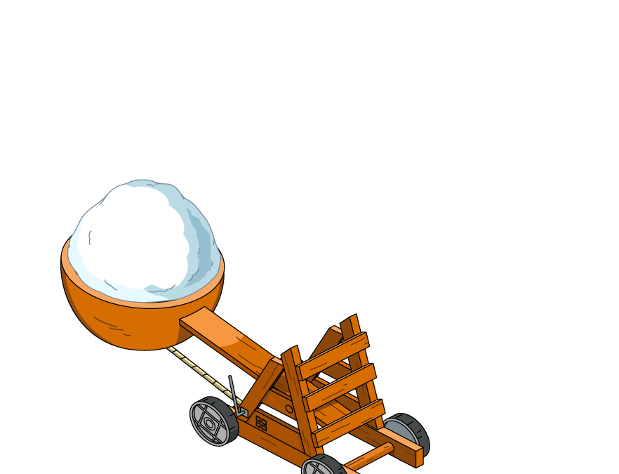 Snowball Catapults