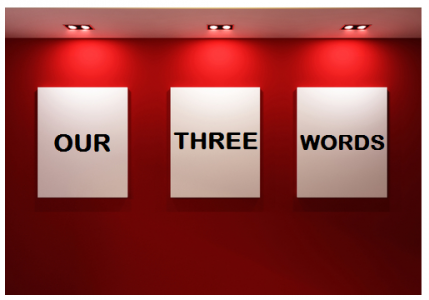 February's Our Three Words