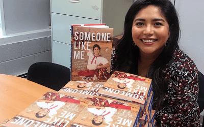 Author Julissa Arce Shares Her Story With Fifth-Graders