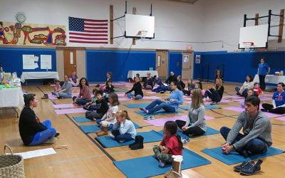 K-5 Family Wellness Night Draws Dozens