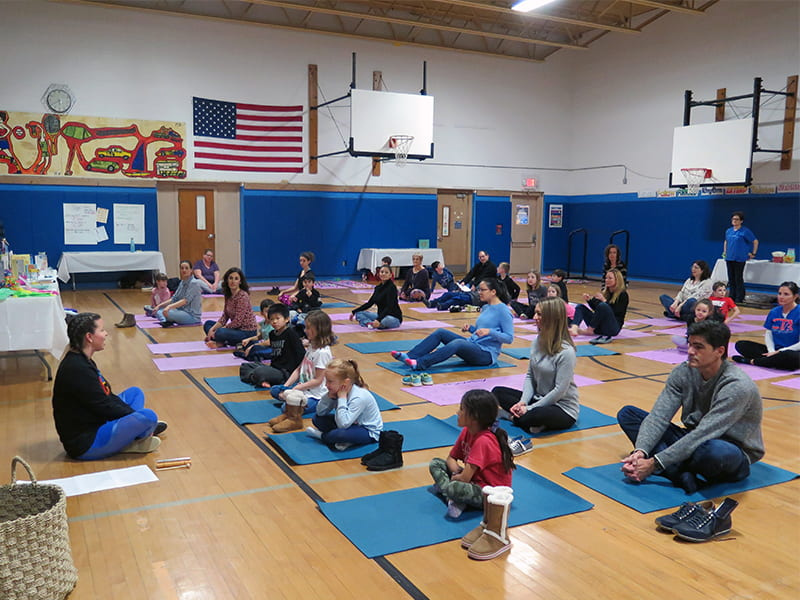 K-5 Family Wellness Night Draws Dozens