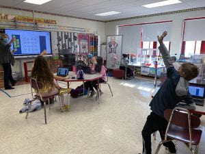 Math games get students jumping at Cottage Lane Elementary School