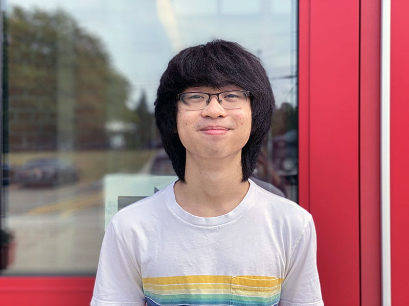 Wu is National Merit Semifinalist