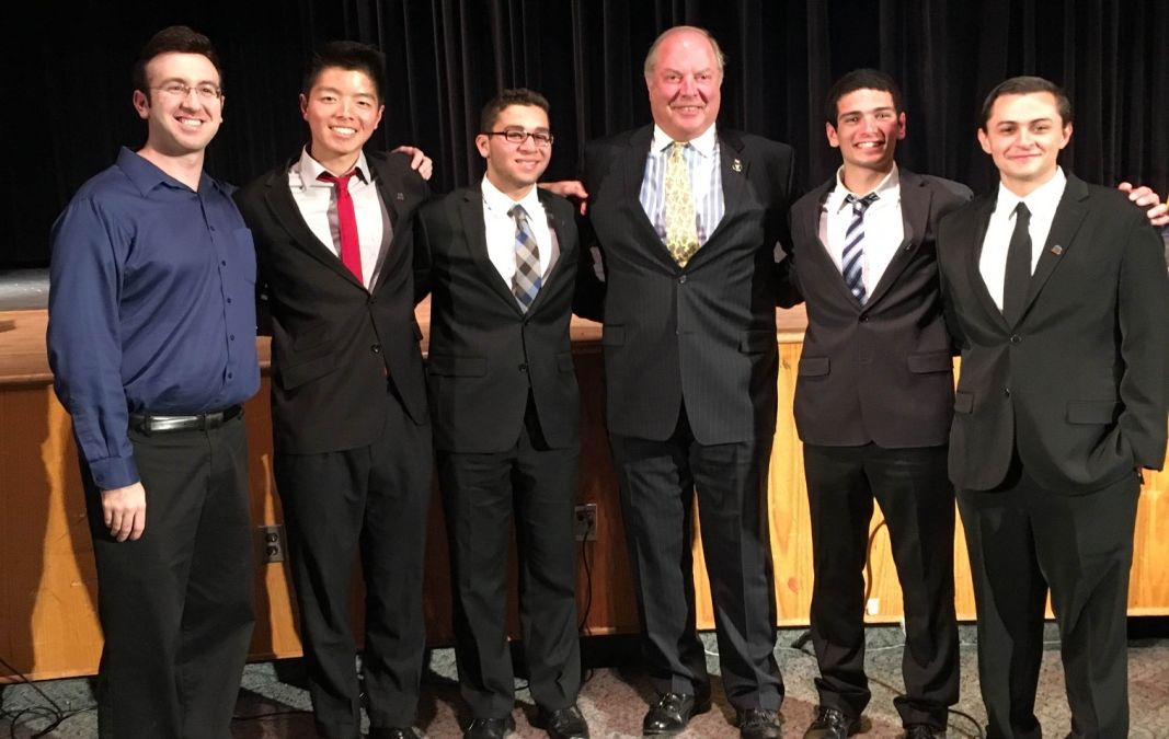 TZHS History Honor Society Inducts Ninety-Two