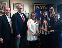 Lynch is South Orangetown Rotary Student of the Month