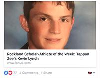 Lynch Named Journal News Rockland Scholar-Athlete