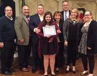 Sons of Italy Awards Two SOMS Students