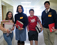 """Tri-State Consortium Principals """"Shadow"""" SOMS Students For A Day"""