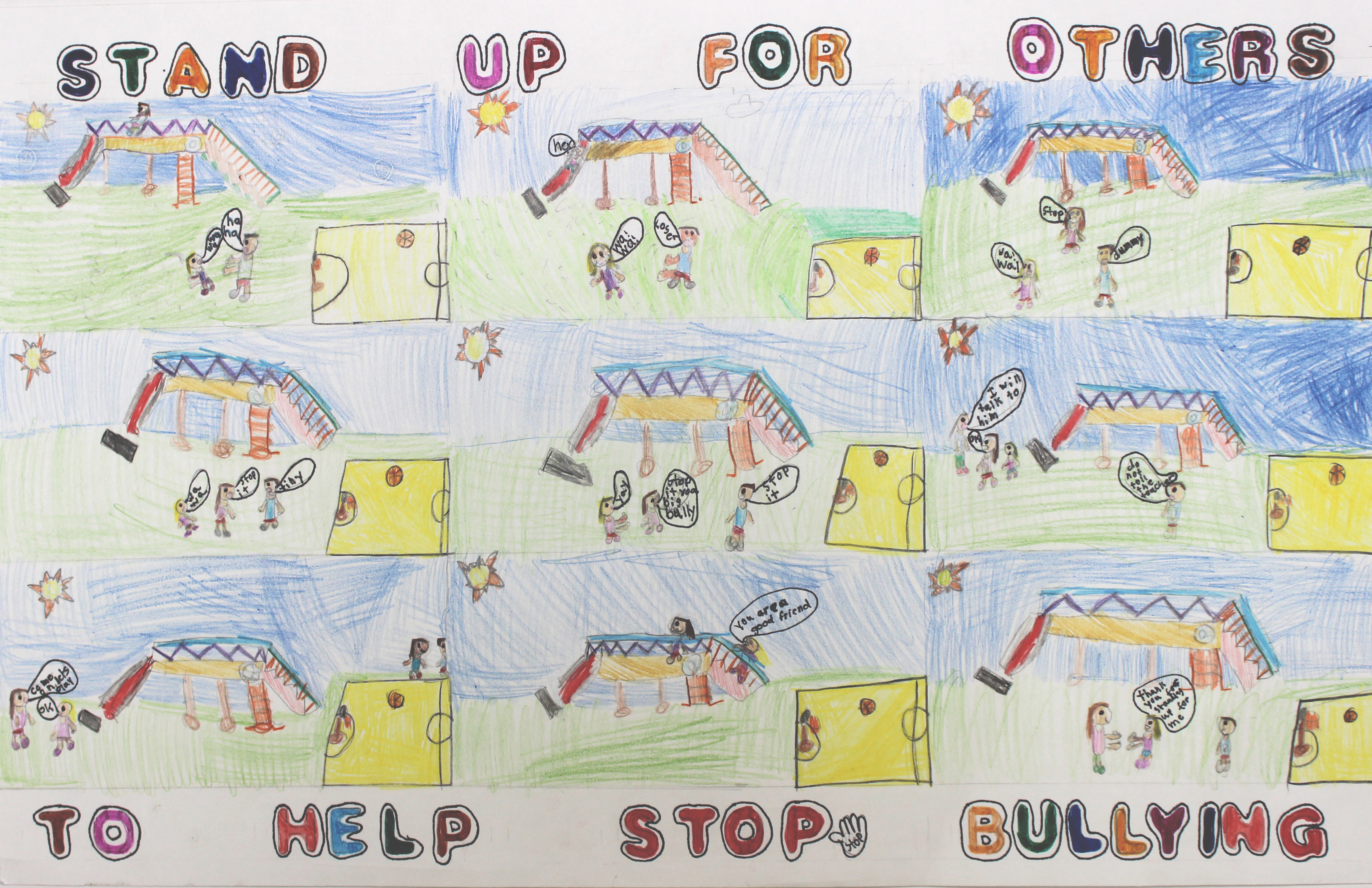 Poster design contest -  Help Stop Bullying