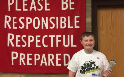 Congratulations to Liam B., SOMS Upstander of the Week!