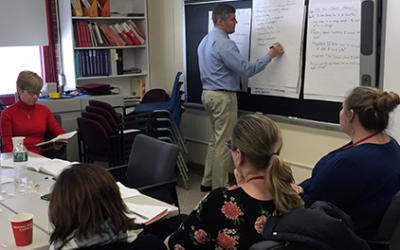 Dr. Culot's Blog: Teacher Leaders Visit Classrooms and Examine ELA Standards