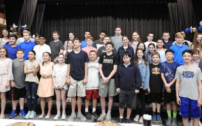 """""""You Make A Difference"""" Awards Honor SOMS Students, Volunteers"""