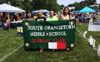 SOMS Italian Clubs, Classes Raise $400 For American Cancer Society