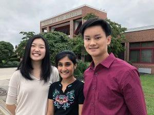 Tappan Zee High School's three 2019 National Merit Scholarship Semifinalists