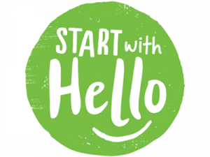 Start With Hello event logo