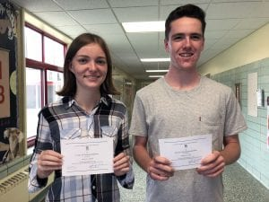 TZHS 2019 National Merit Scholarship Commended students