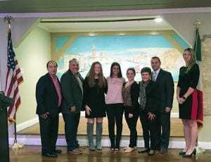 TZHS Rockland Lodge Students of the Month for October 2018