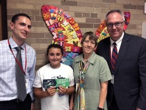 Jill H. is SOMS Upstander of the Week, with administrators
