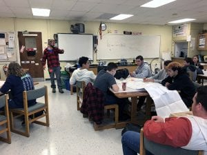 Guest speaker lectures Alternative Fuels class