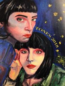 2018 TONES cover art