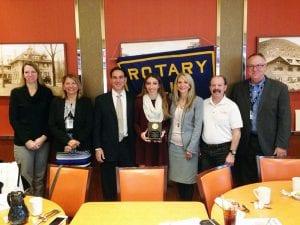 November 2018 TZHS Rotary Student of the Month Katelyn Lange