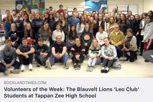 Leo Club photo from Rockland County Times