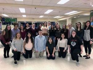 TZHS Interact Club posed group photo