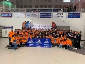 Three robotics teams winners