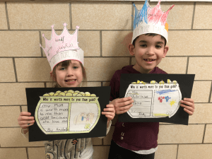 Students with crowns