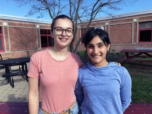 Cassandra Bartels and Palak Oza