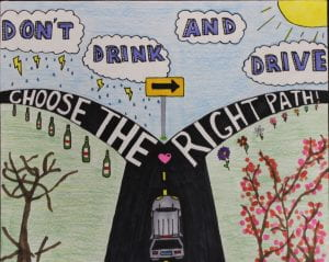 """Don't Drink and Drive: Choose the Right Path"""